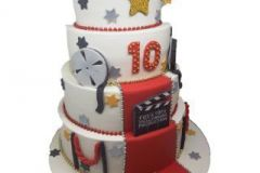 Hollywood-Themed-Cake