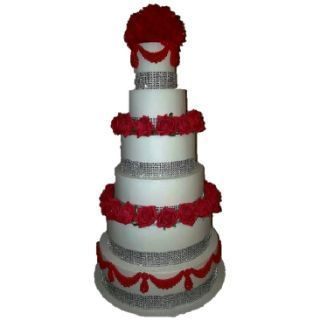 6-Tier-Red-Roses-Cake